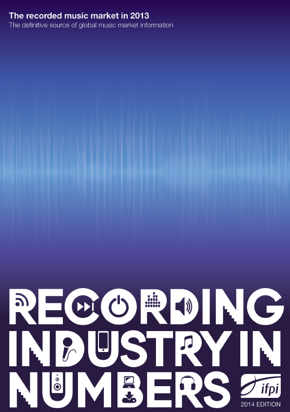 Recording industry in numbers:the definitive source of global music market information.