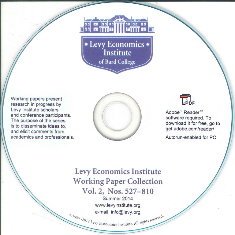 Levy Economics Institute Working Paper Collection [e-book]