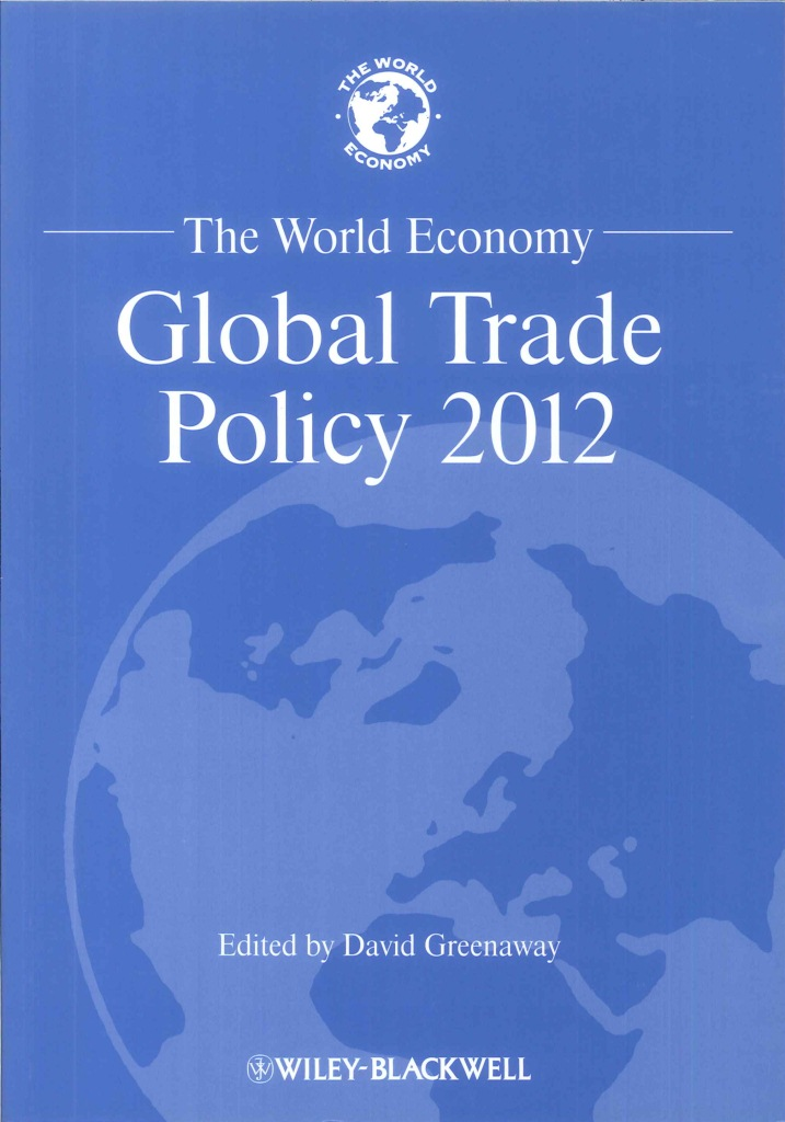 The world economy:global trade policy