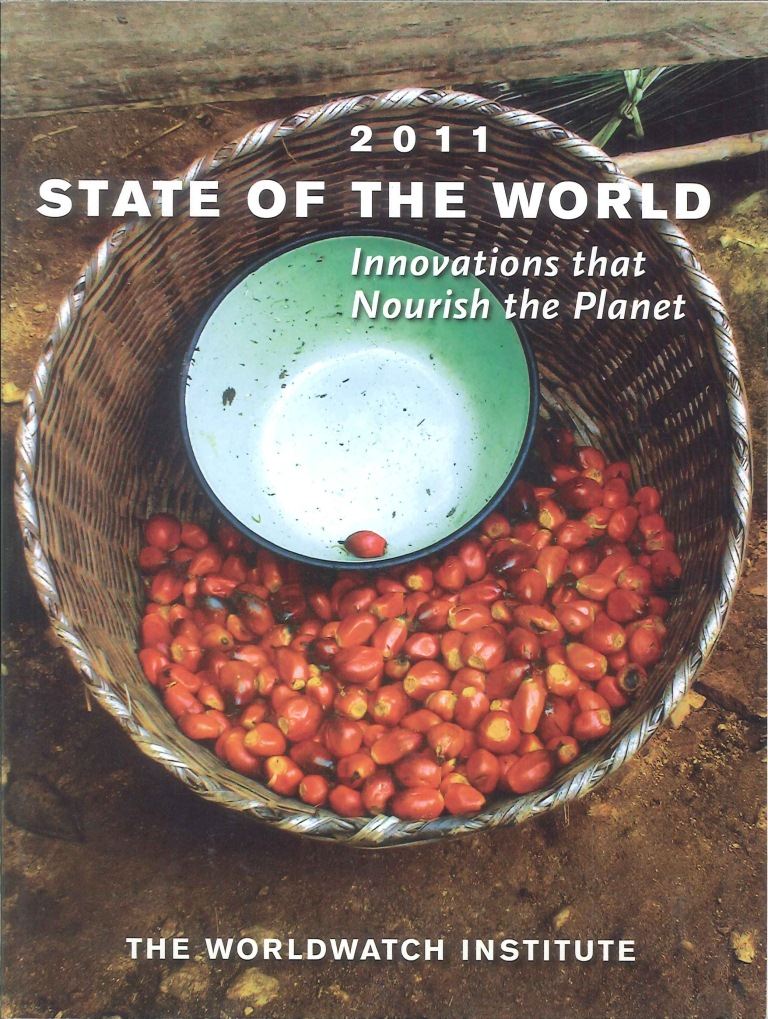 State of the world:a Worldwatch Institute report on progress toward a sustainable society