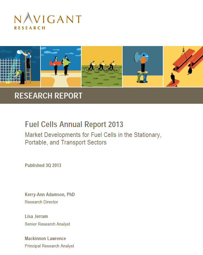 Fuel cells annual report [e-book]:market development for fuel cells in the stationary, portable, and transport sectors