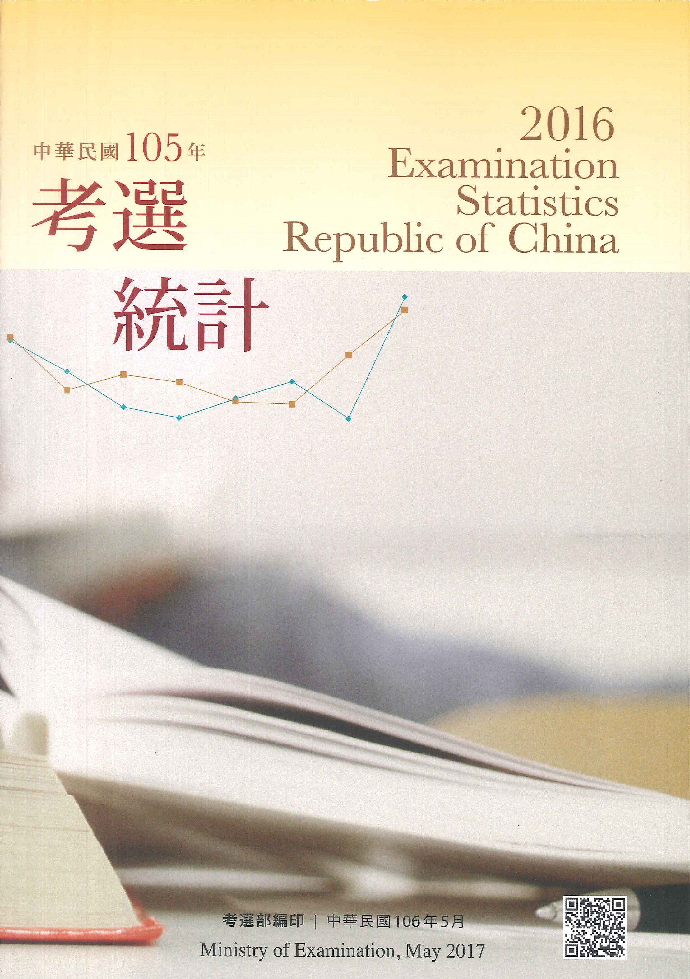 中華民國考選統計=Examination statistics, Republic of China