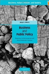 Business and public policy:responses to environmental and social protection processes