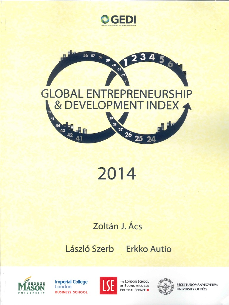 Global entrepreneurship and development index