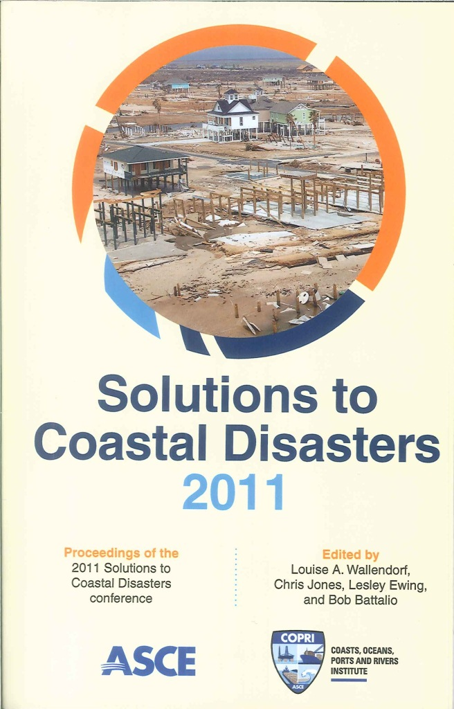 Solutions to coastal disasters:proceedings of sessions of the conference