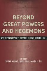 Beyond great powers and hegemons:why secondary states support, follow or challenge
