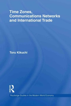 Time zones, communication networks and international trade