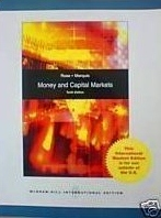 Money and Capital Markets:financial institution and instruments in a global marketplace