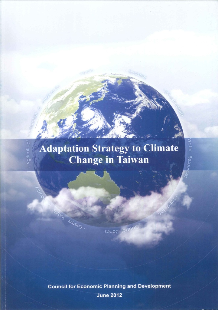 Adaptation strategy to climate change in Taiwan