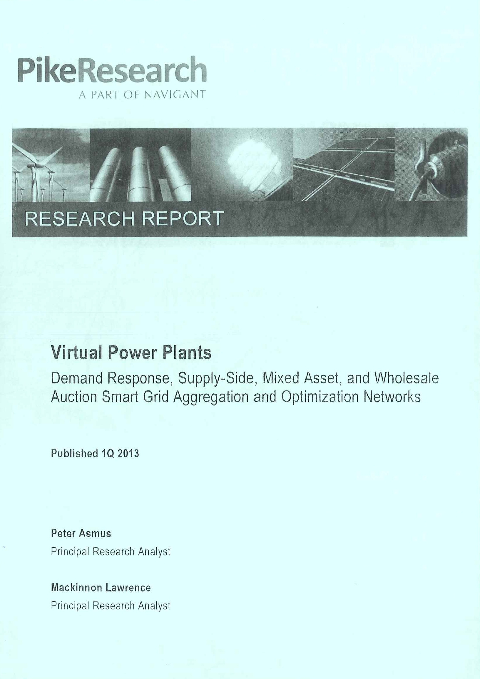 Virtual power plants [e-book]:demand response, supply-side, mixed asset, and wholesale auction smart grid aggregation and optimization networks