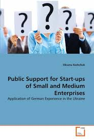 Public support for start-ups of small and medium enterprises:application of German experience in the Ukraine