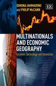 Multinationals and economic geography:location, technology and innovation