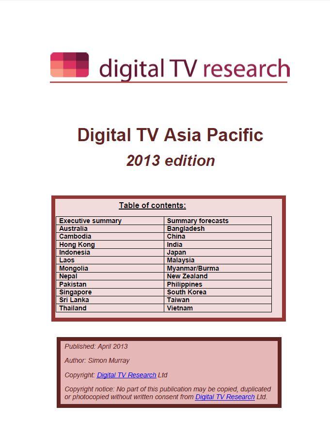 Digital TV Asia Pacific [e-book]