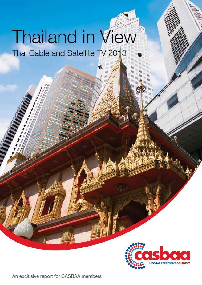 Thailand in view [e-book]:Thai cable and satellite TV 2013