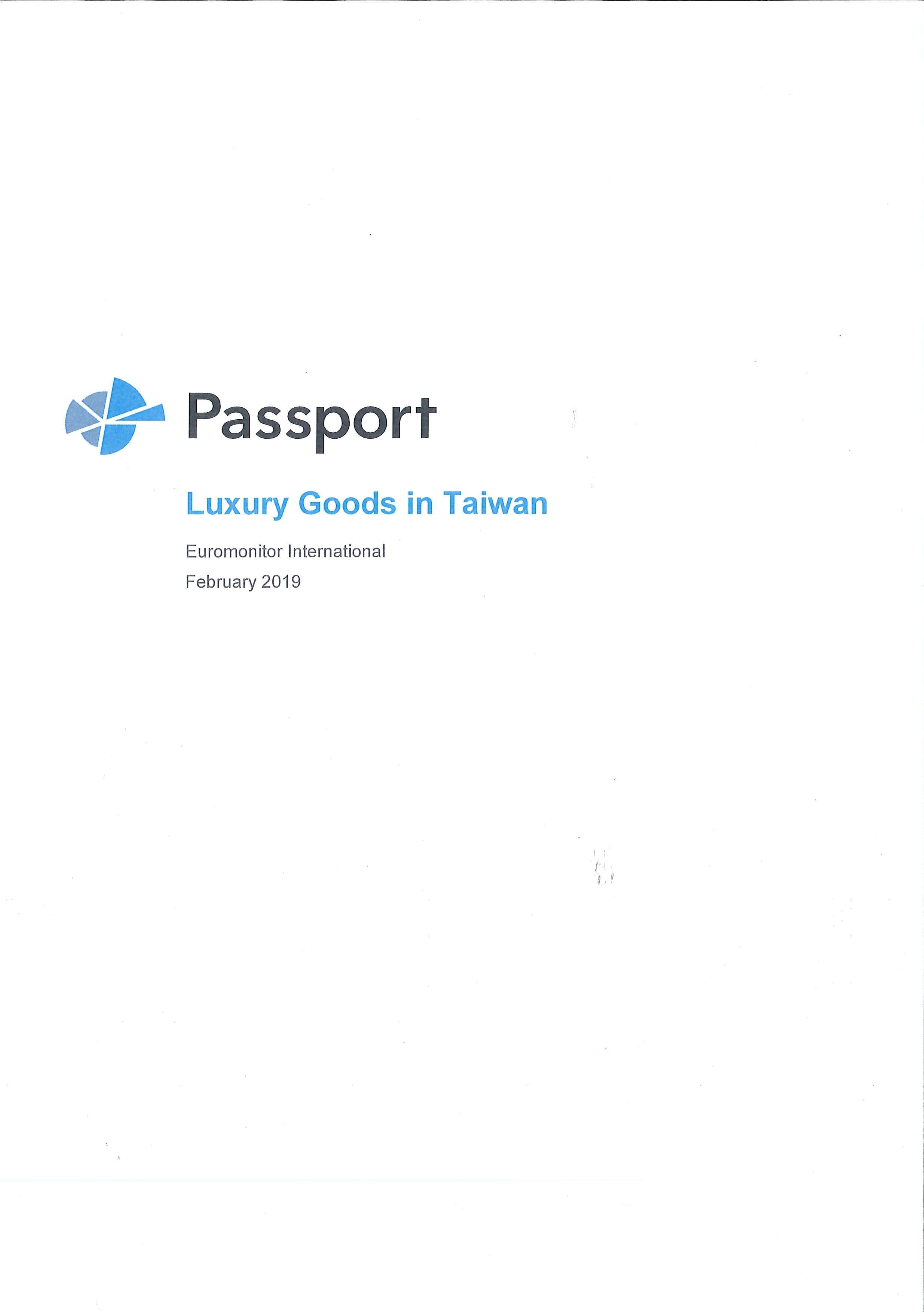 Luxury goods in Taiwan [e-book]