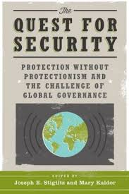 The quest for security:protection without protectionism and the challenge of global governance