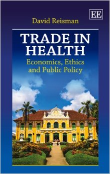 Trade in health:economics, ethics and public policy