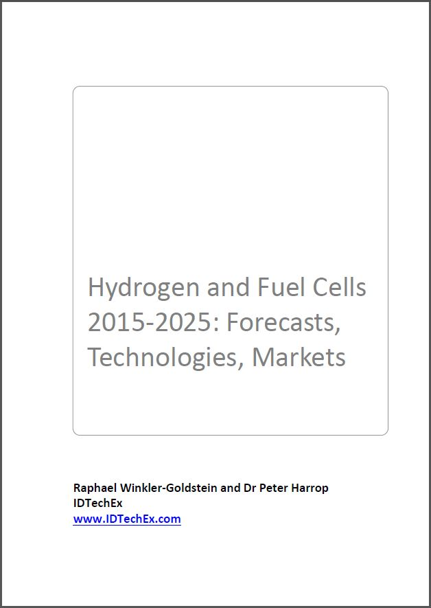 Hydrogen and fuel cells 2015-2025 [e-book]:forecasts, technologies, markets