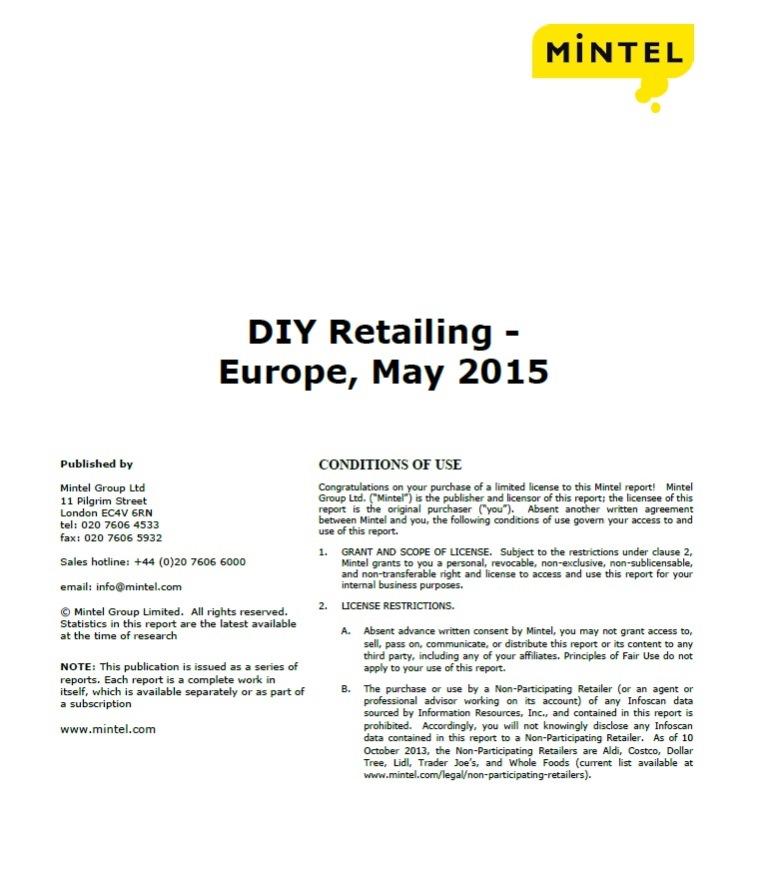 DIY retailing [e-book].2015.:Germany