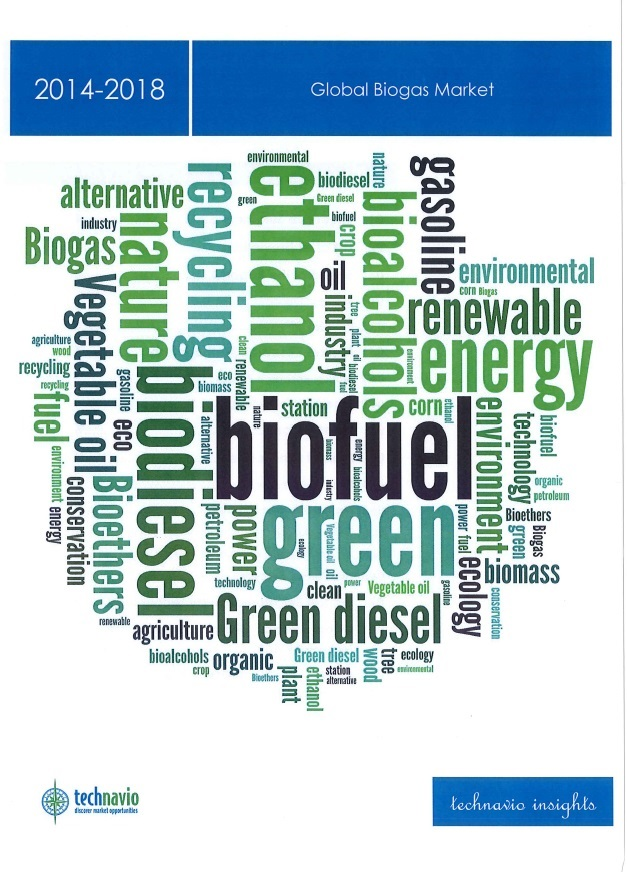 Global biogas market 2014-2018 [e-book].