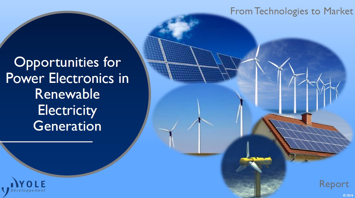Opportunities for power electronics in renewable electricity generation [ebook]