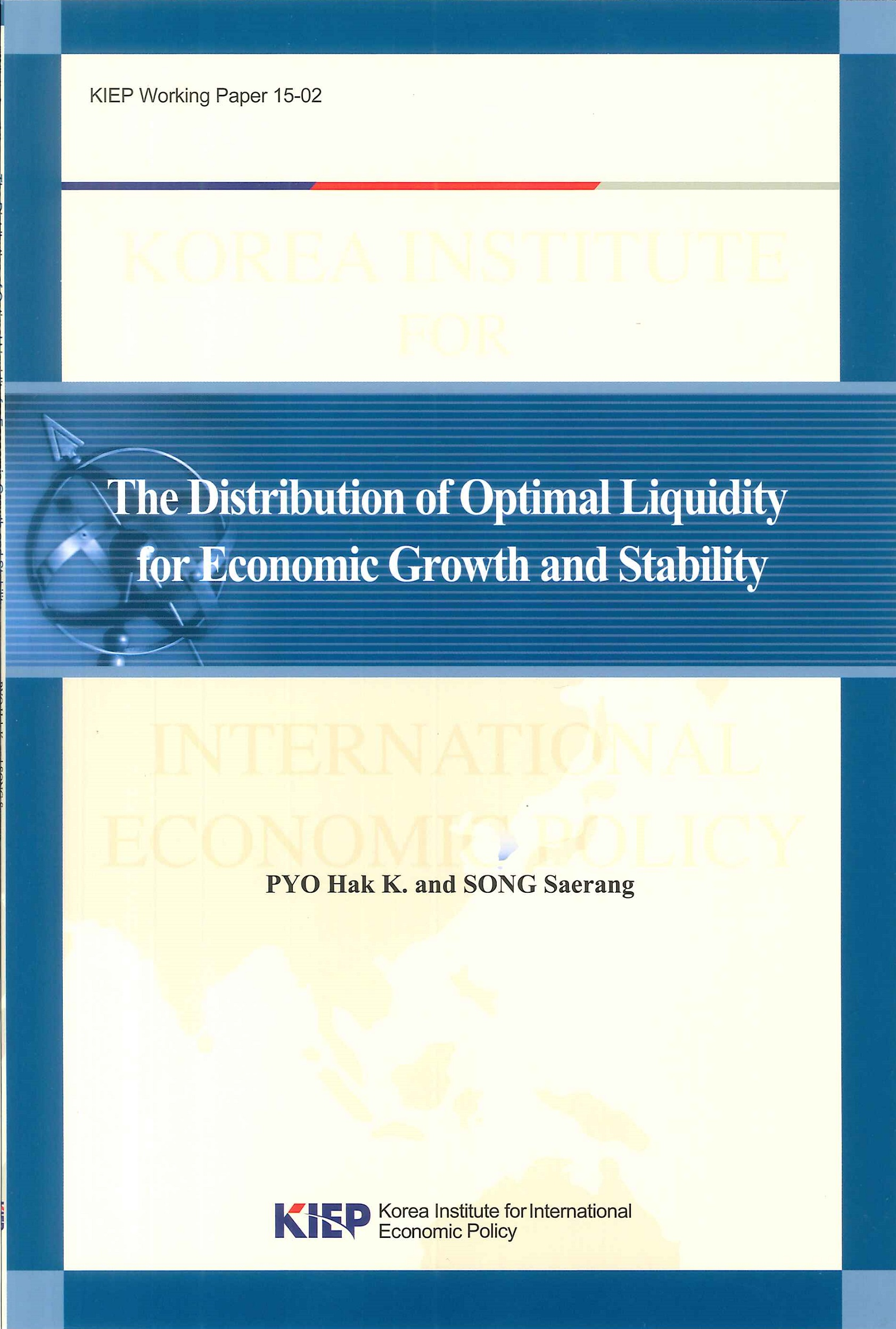 The distribution of optimal liquidity for economic growth and stability