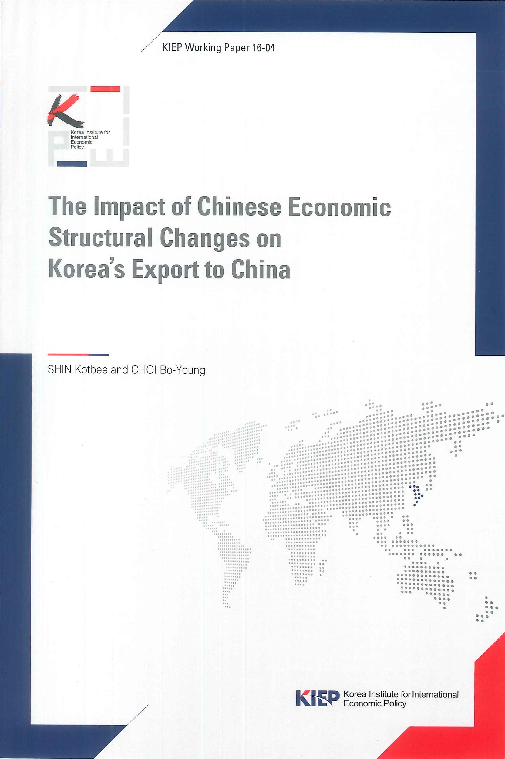 The impact of Chinese economic structural changes on Korea