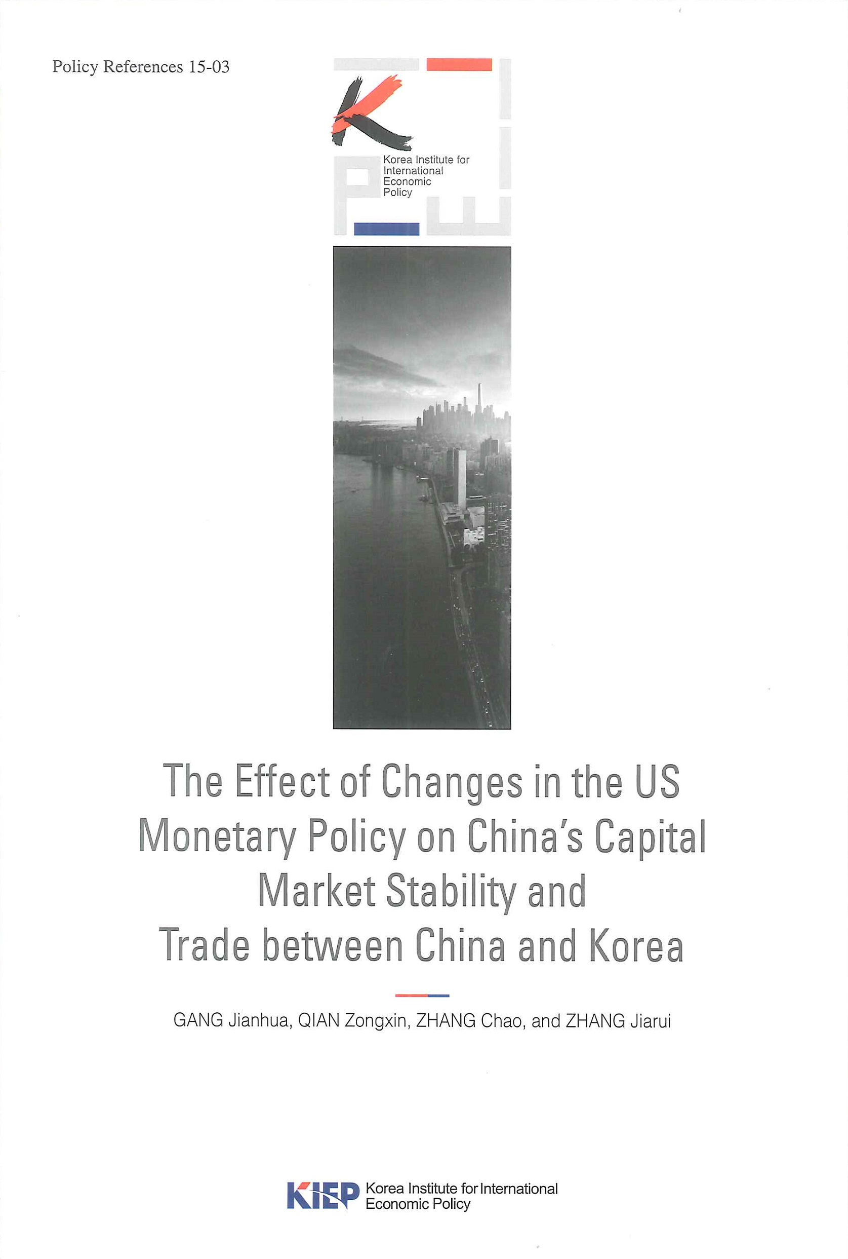 The effect of changes in the US monetary policy on China