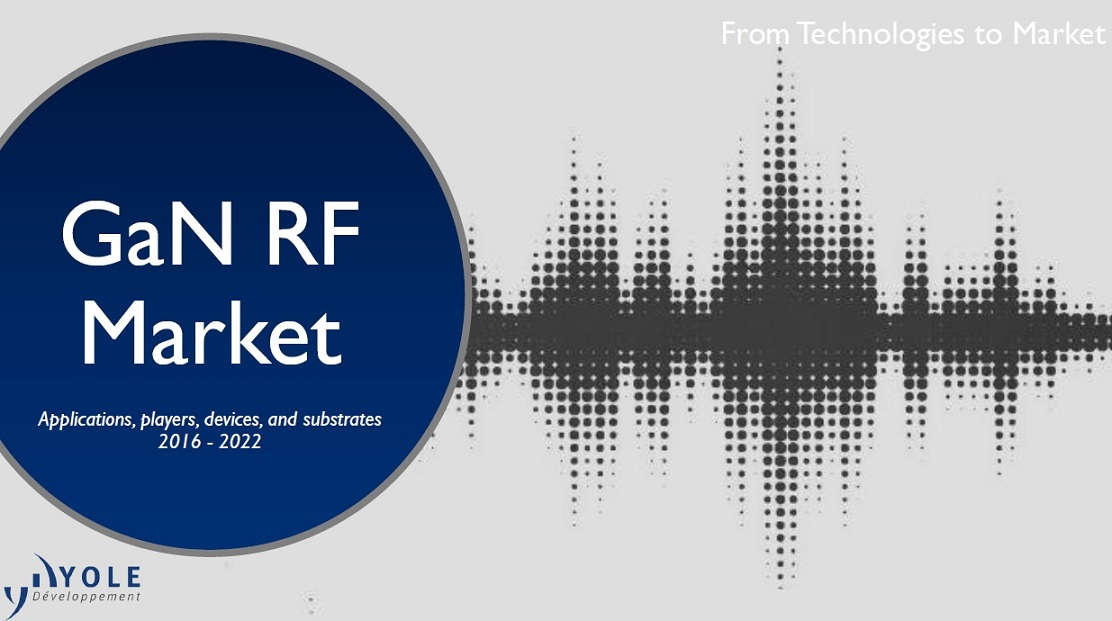 GaN RF market [e-book]:applications, players, devices, and substrates 2016-2022:from téchnologies to market