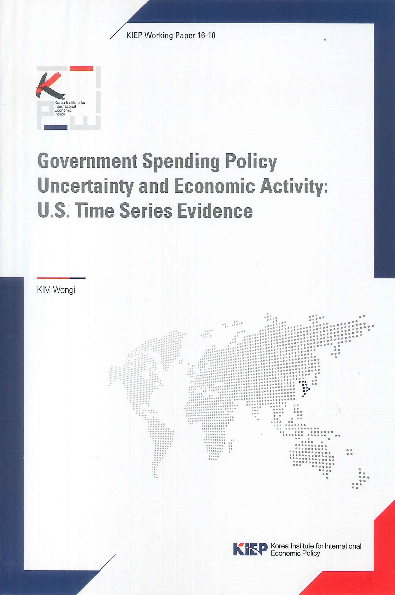 Government spending policy uncertainty and economic activity:U.S. time series evidence