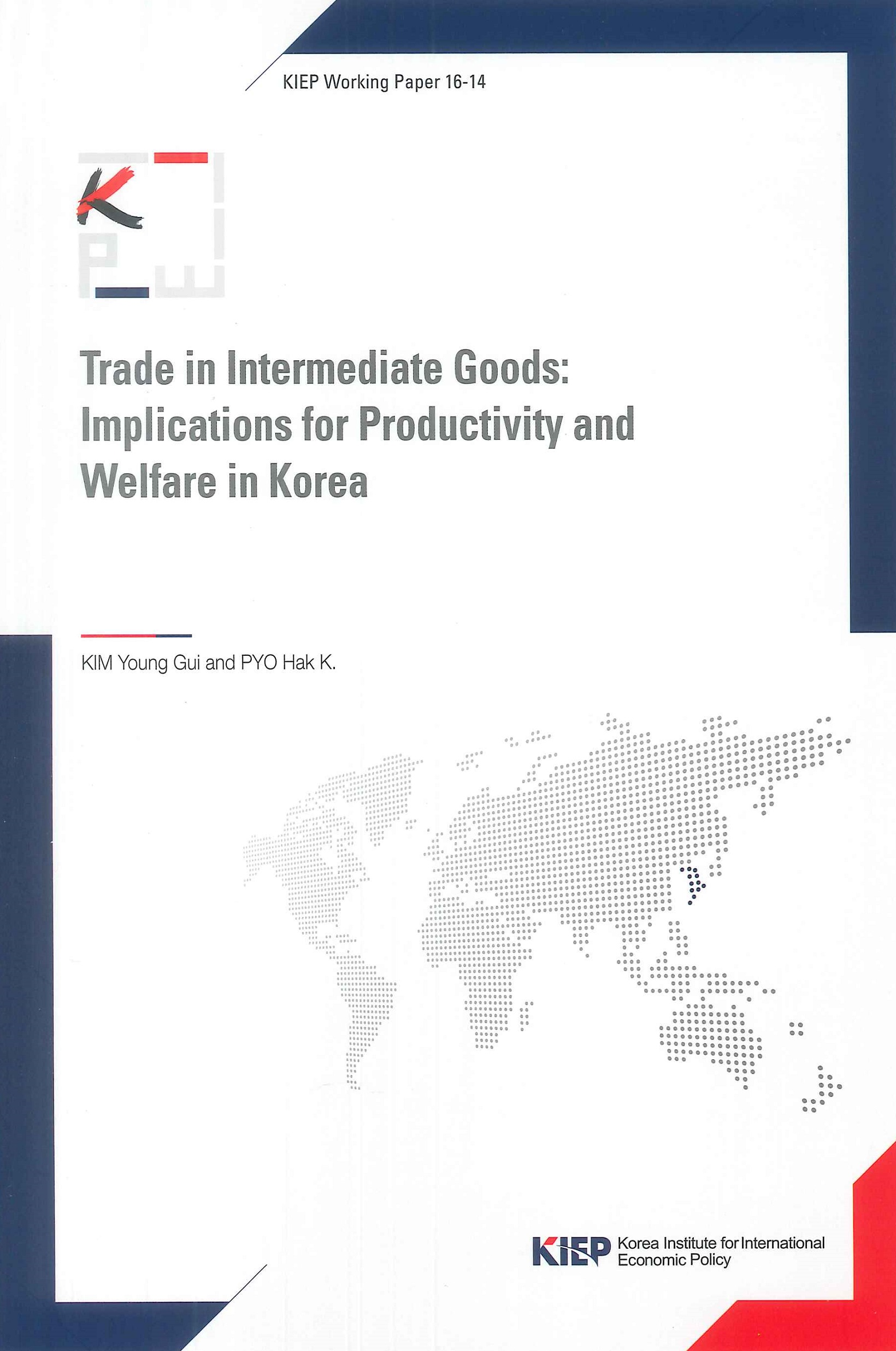Trade in intermediate goods:implications for productivity and welfare in Korea
