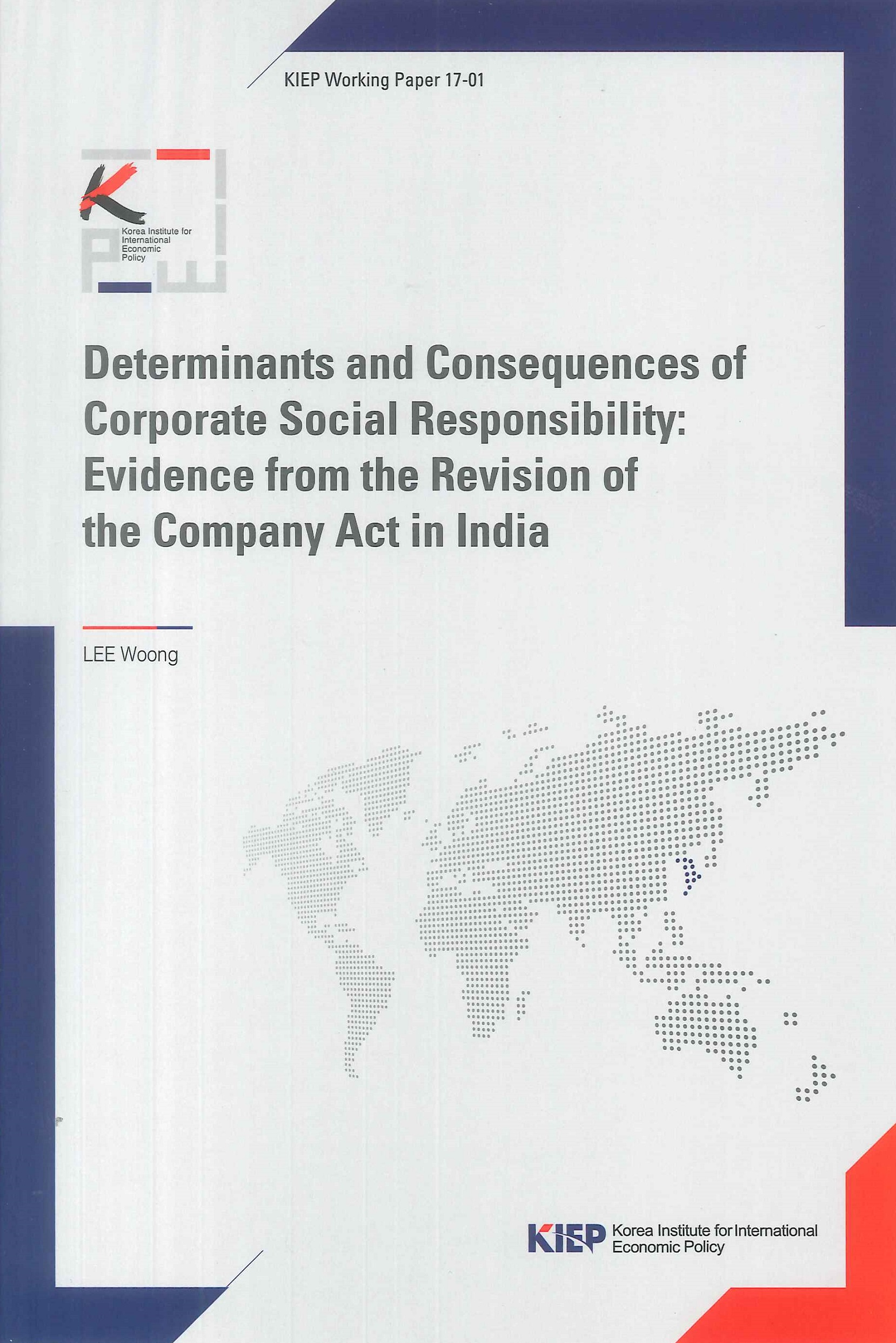 Determinants and consequences of corporate social responsibility:evidence from the revision of the company act in India