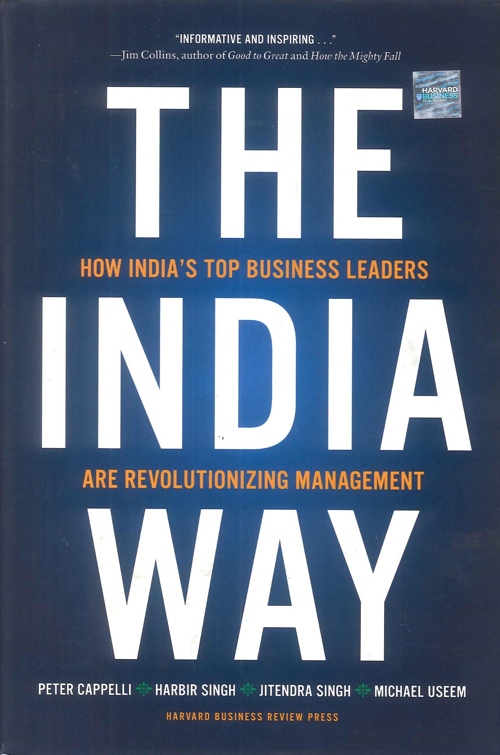 The India way:how India