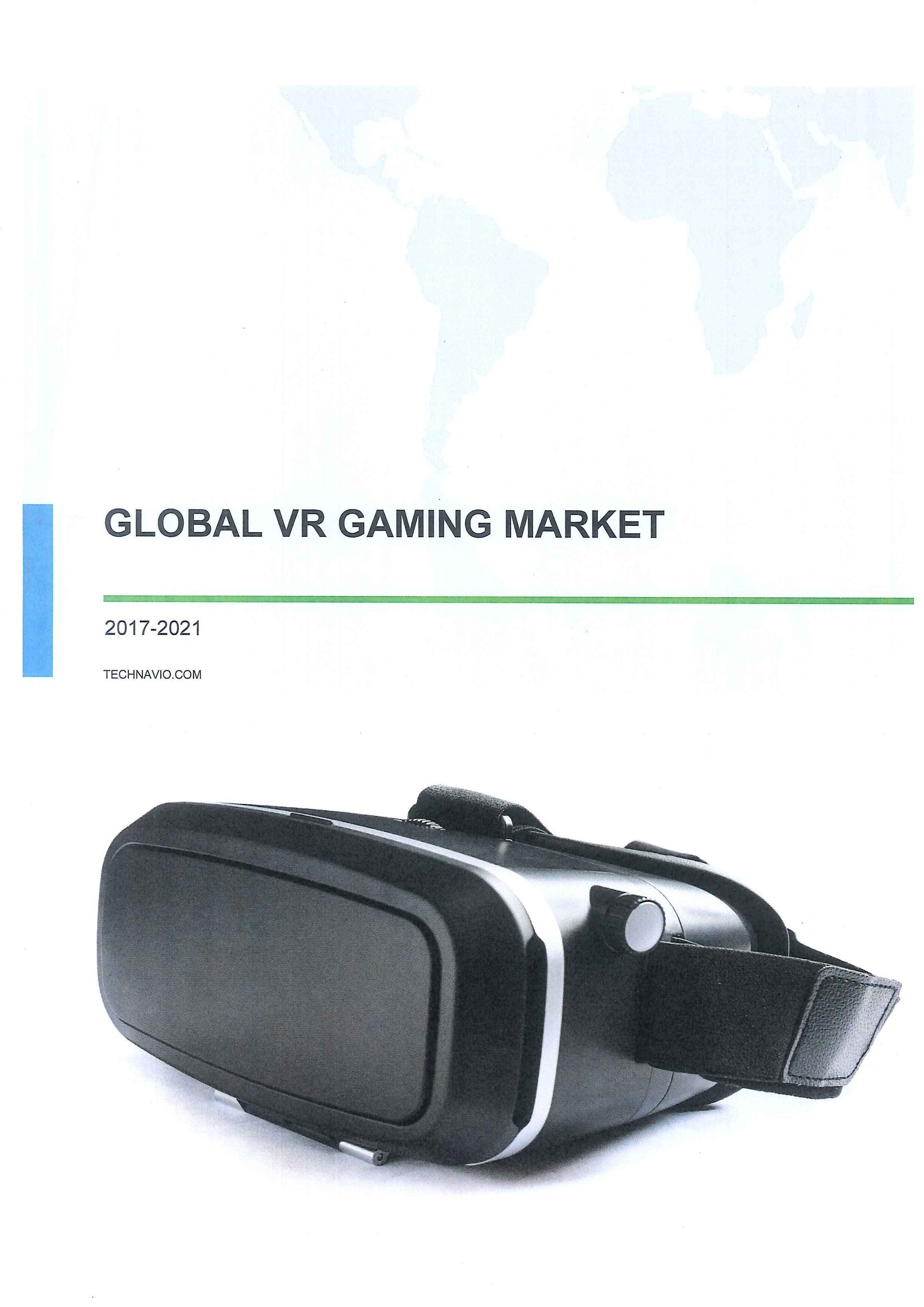 Global VR gaming market  [e-book]:2017-2021