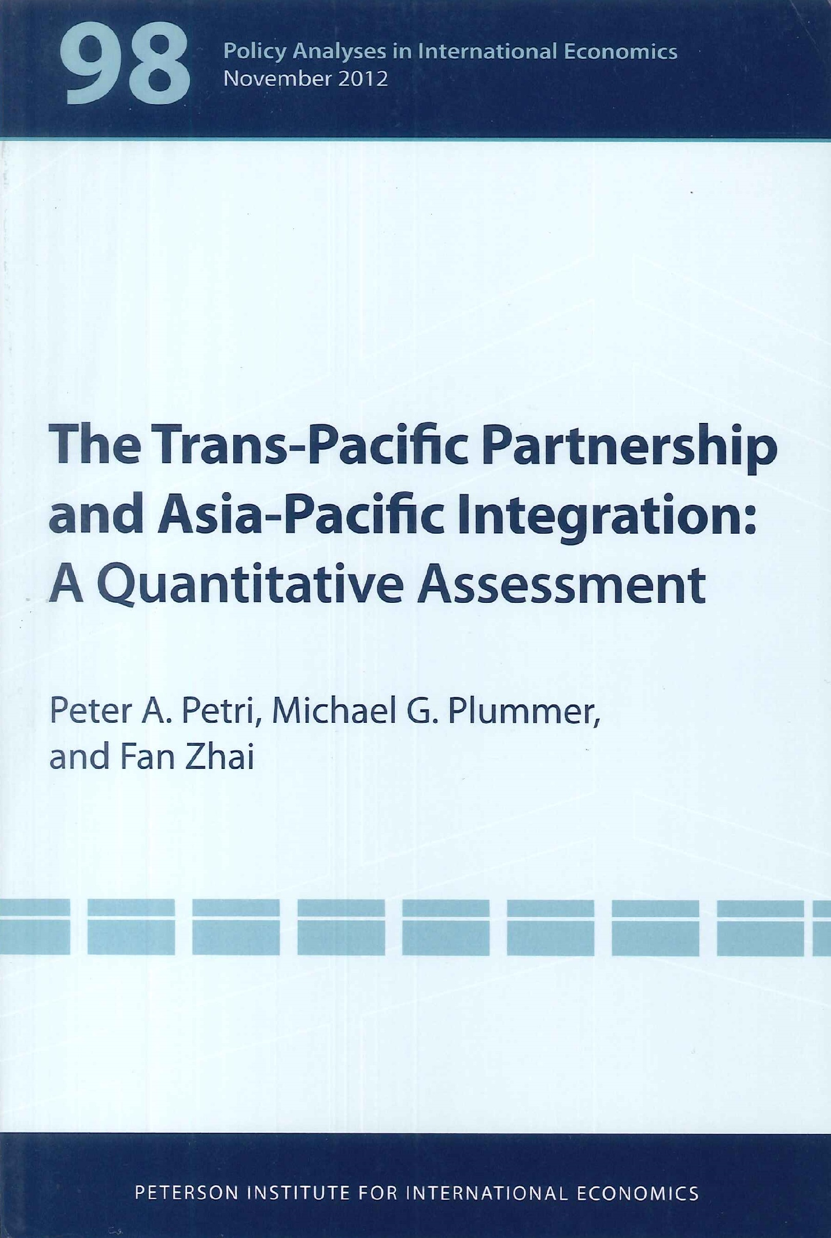 The Trans-Pacific Partnership and Asia-Pacific integration:a quantitative assessment
