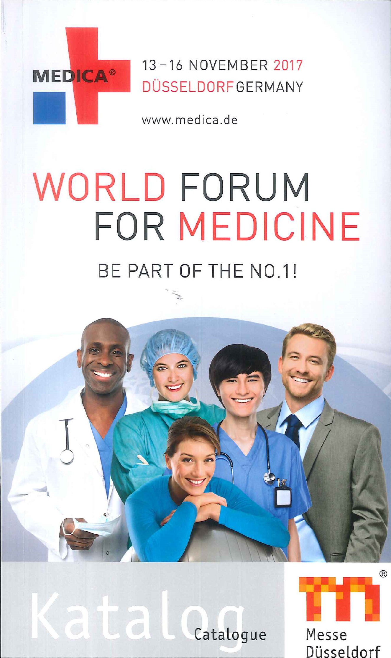 MEDICA.Catalogue.2017:world forum for medicine
