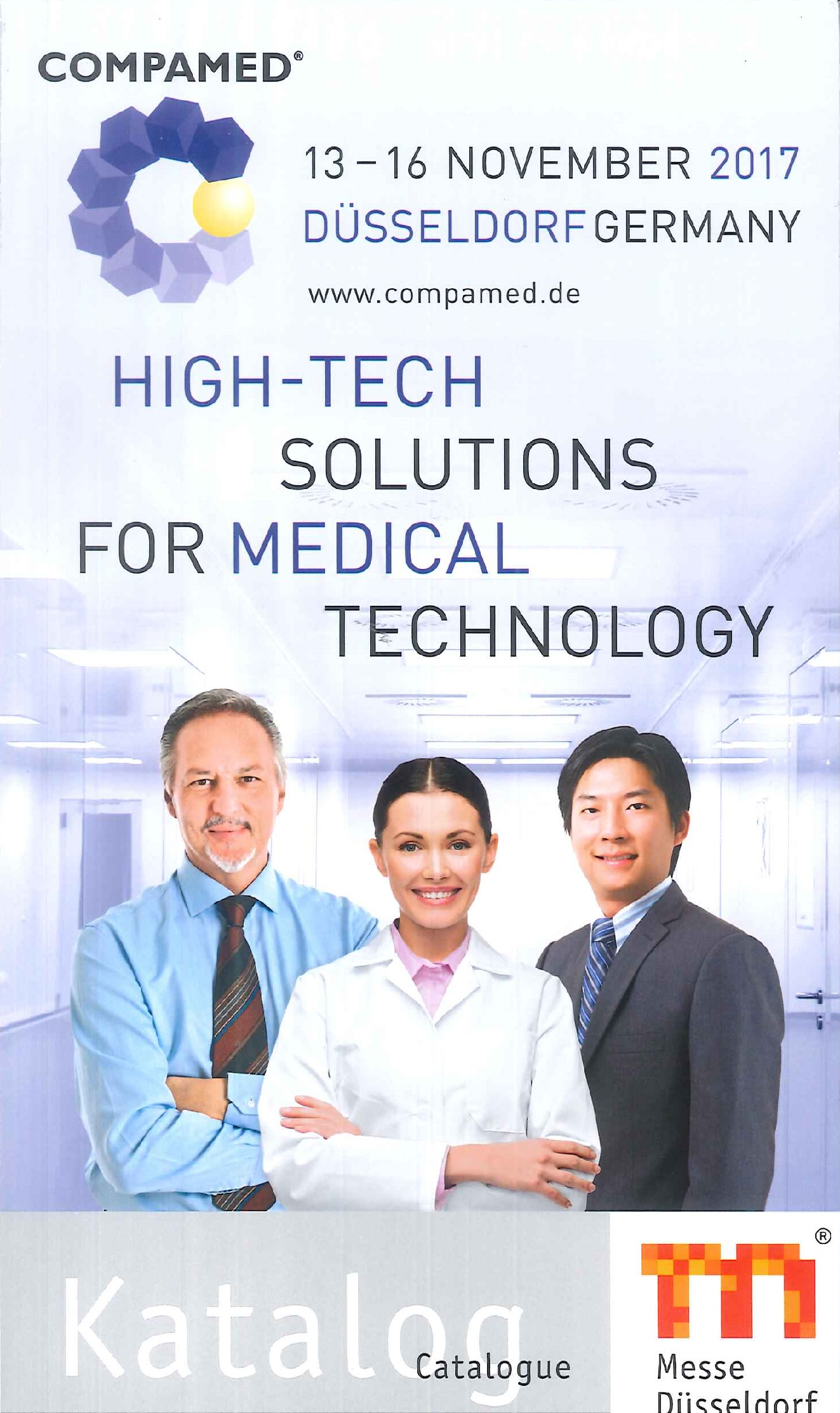 COMPAMED.Catalogue.2017:high-tech solutions for medical technology
