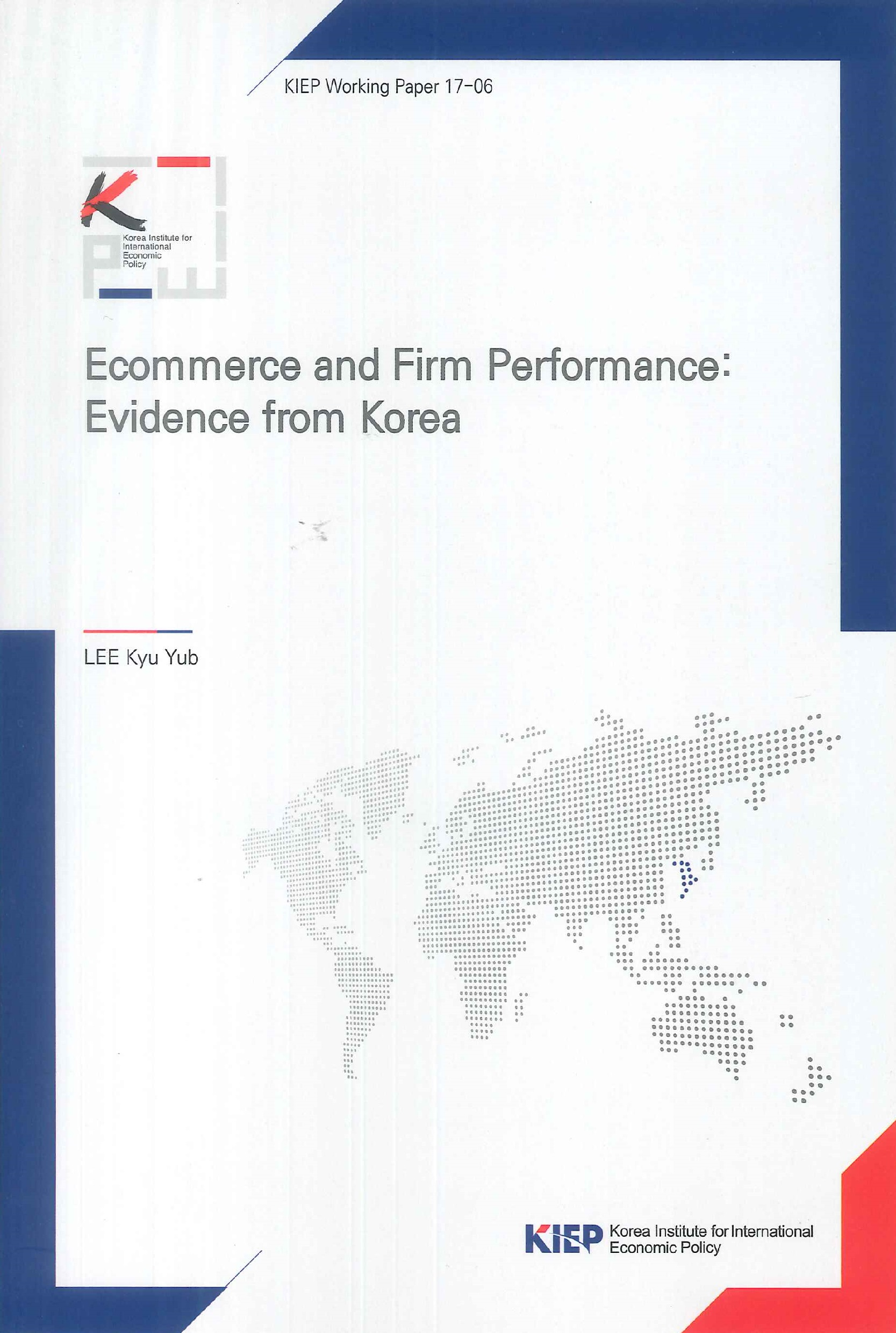 Ecommerce and firm performance:evidence from Korea