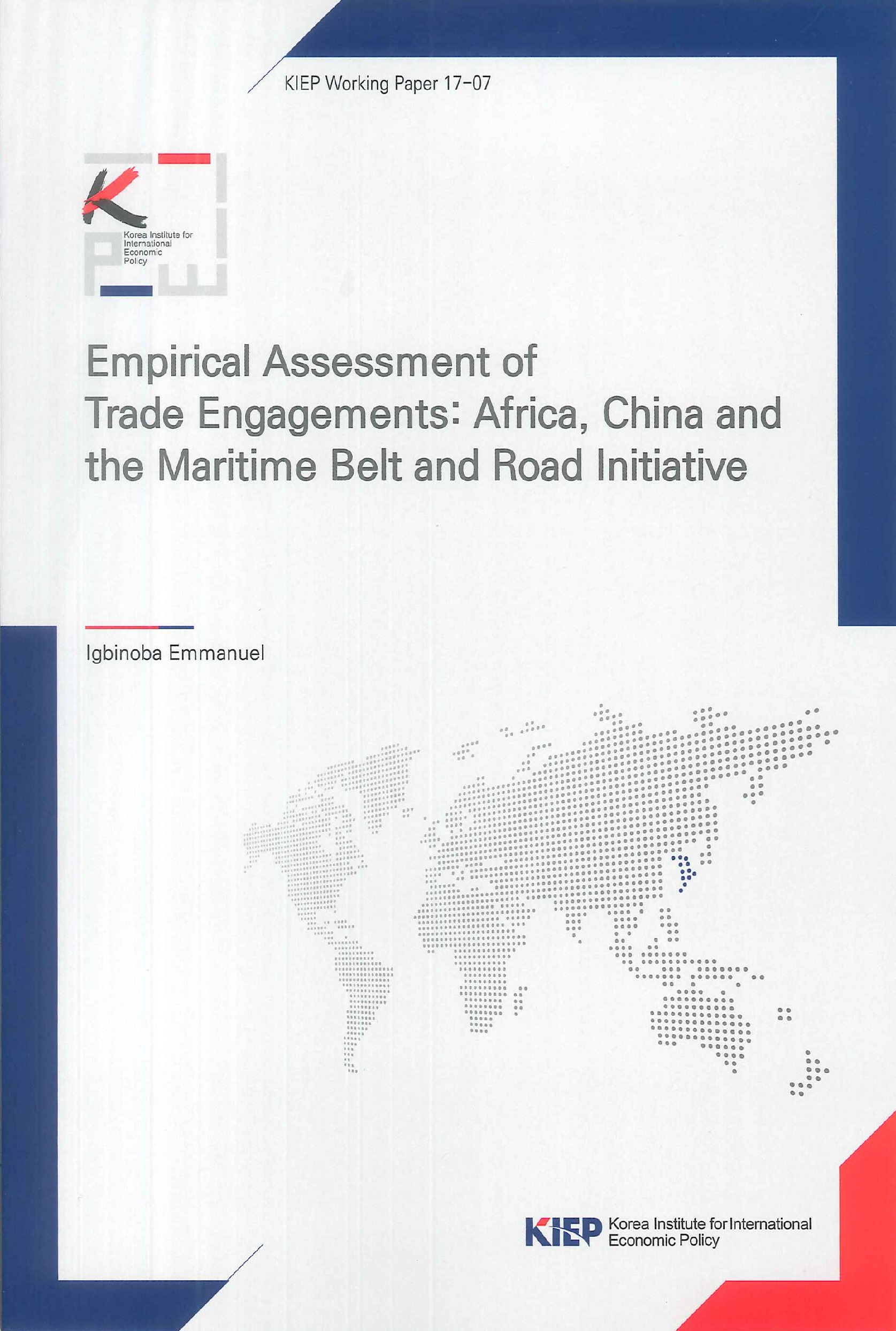 Empirical assessment of trade engagements:Africa, China and the maritime belt and road initiative