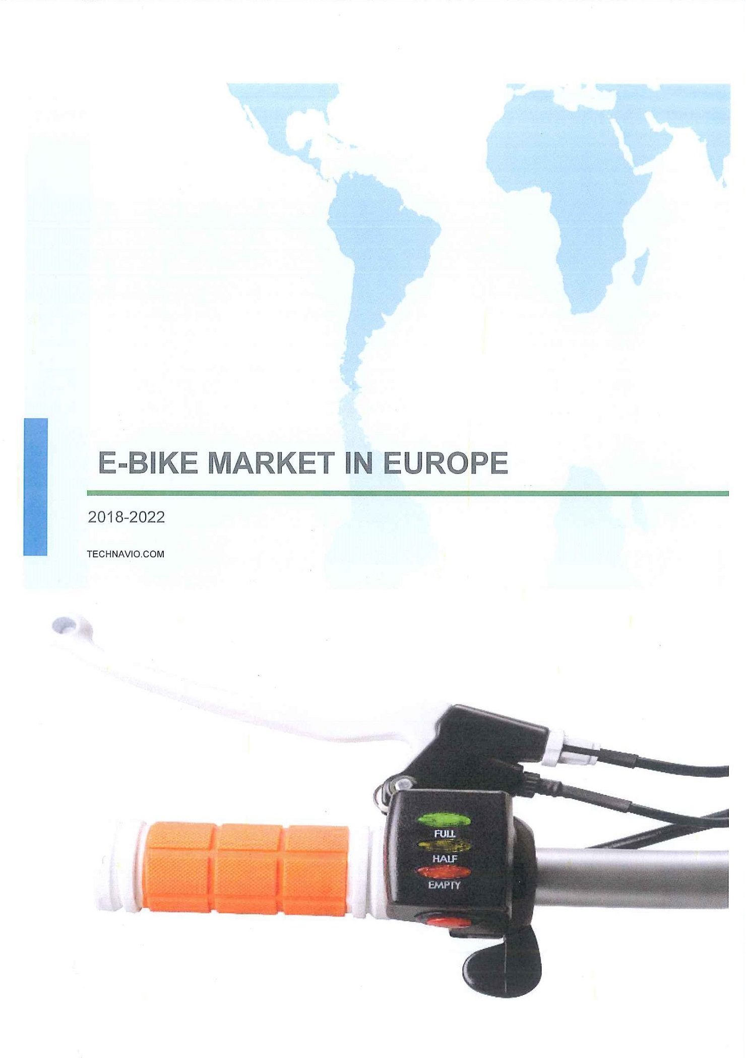 E-bike market in Europe [e-book].2018-2022.