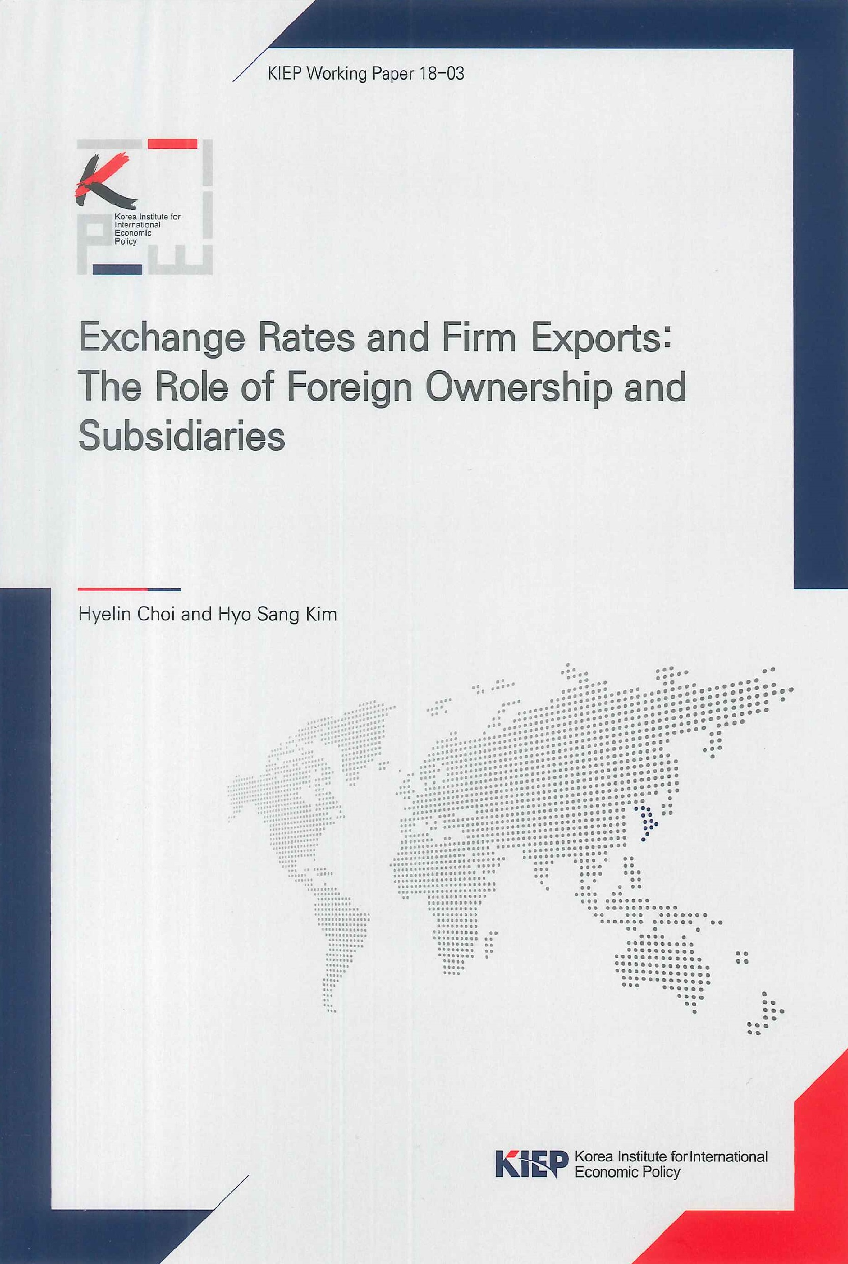 Exchange rates and firm exports:the role of foreign ownership and subsidiaries