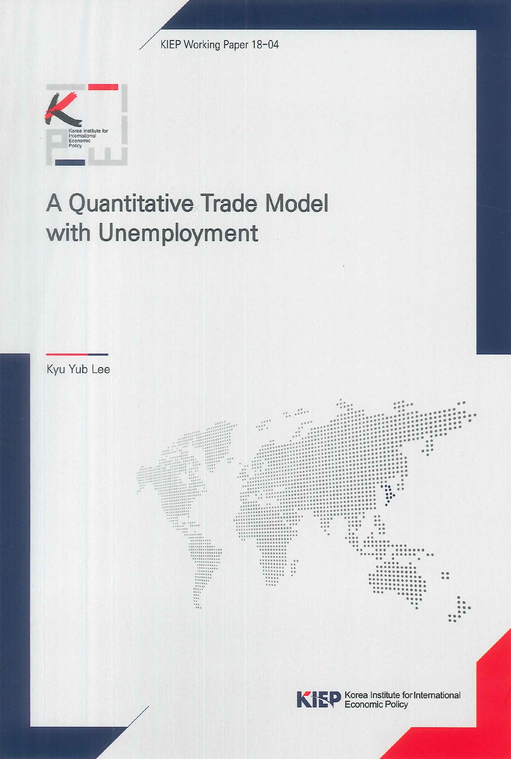 A quantitative trade model with unemployment