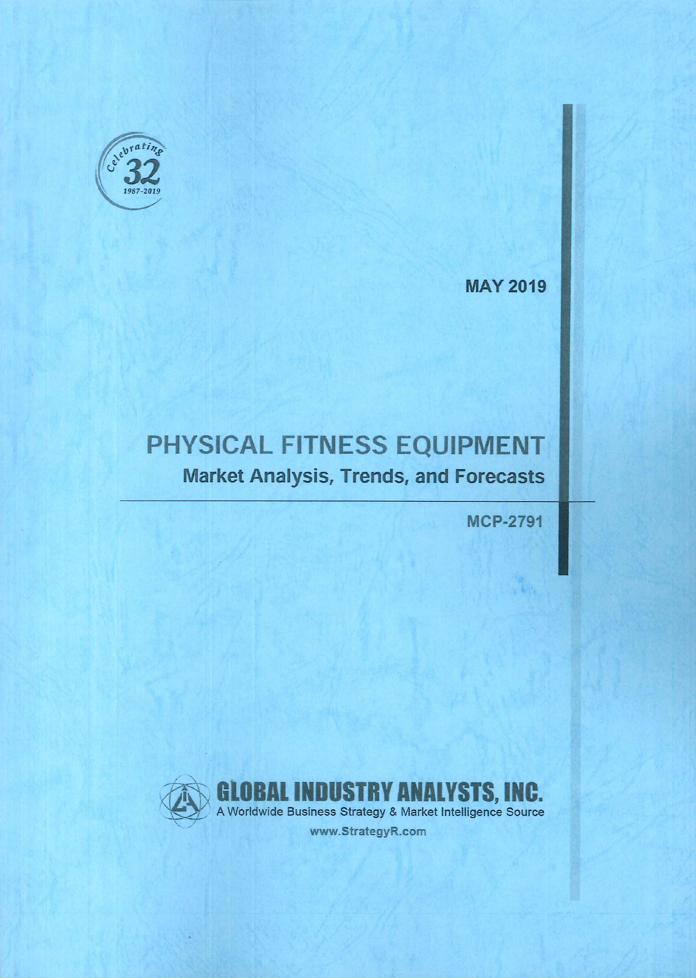 Physical fitness equipment [e-book]:market analysis, trends, and forecasts.