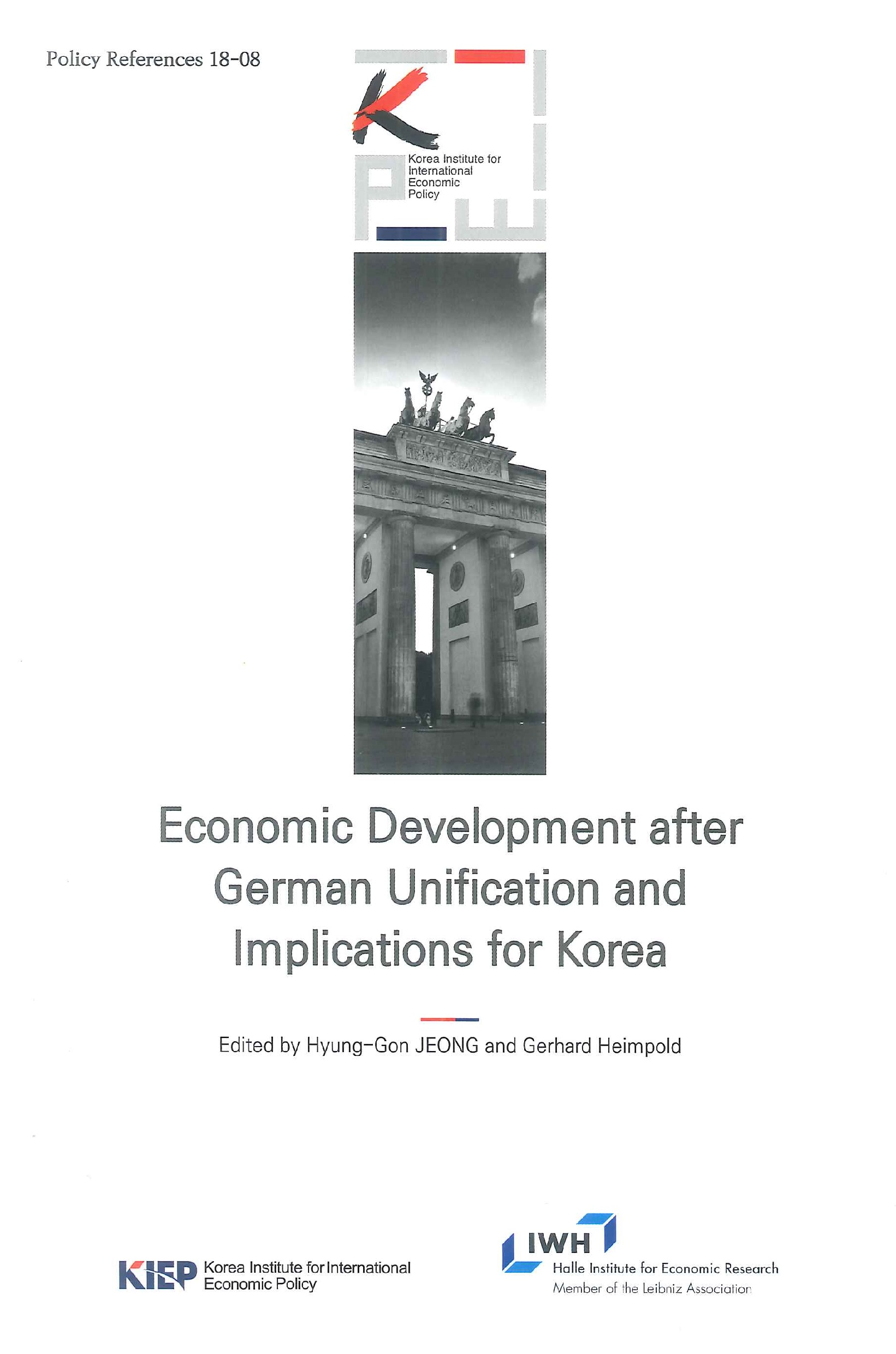 Economic development after German unification and implications for Korea