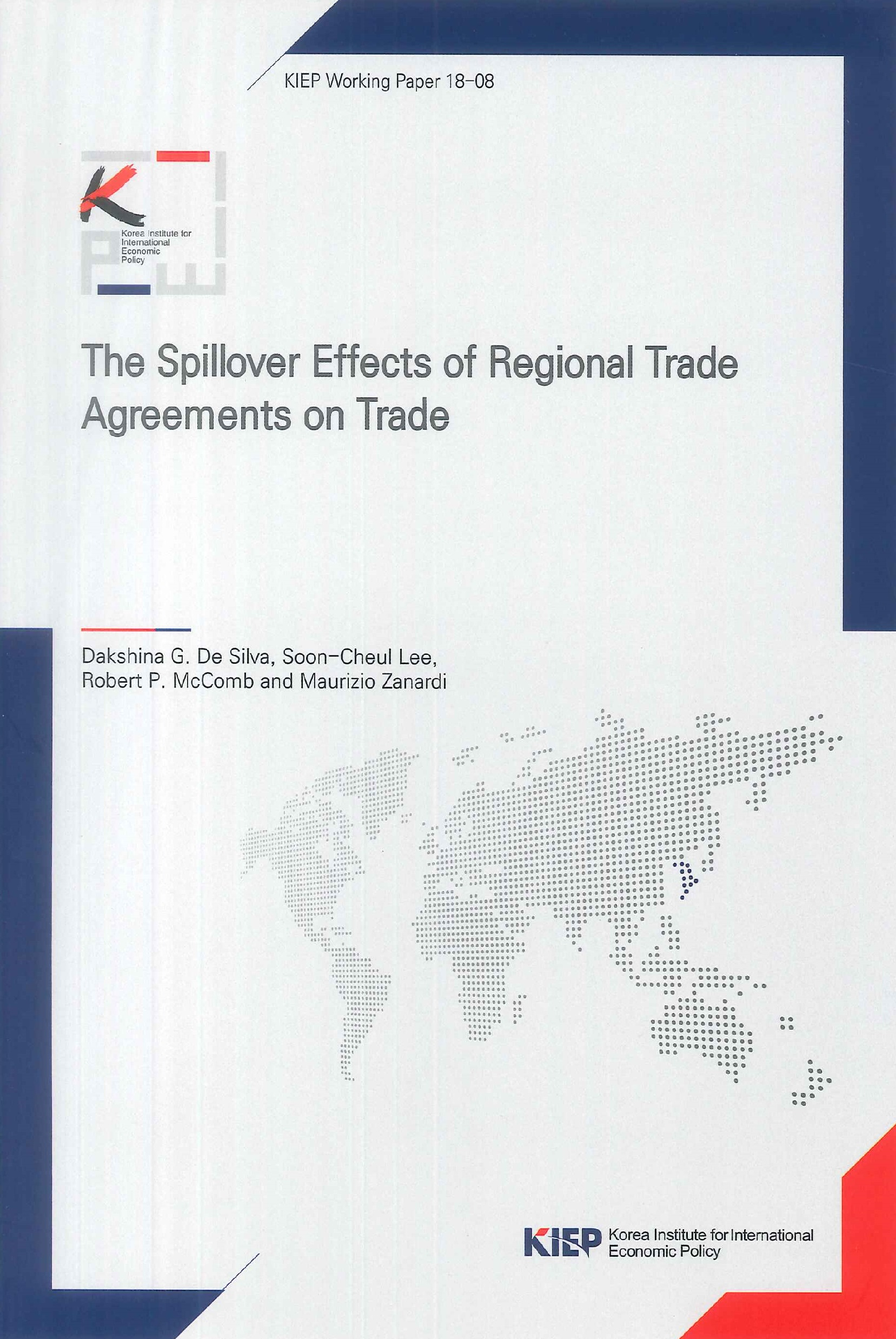 The spillover effects of regional trade agreements on trade