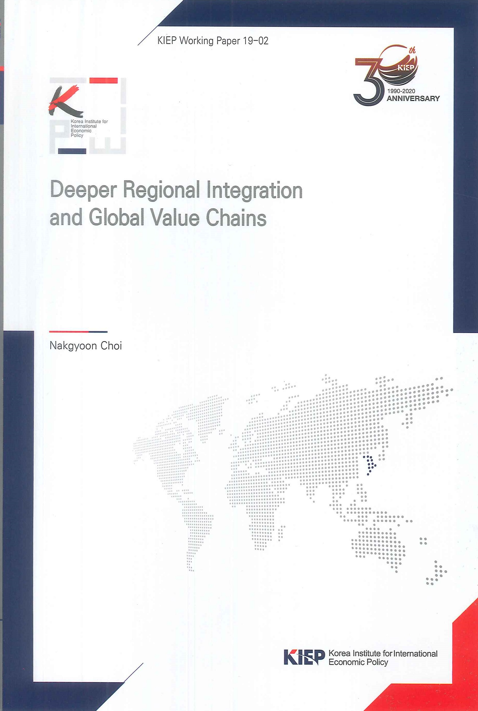 Deeper regional integration and global value chains