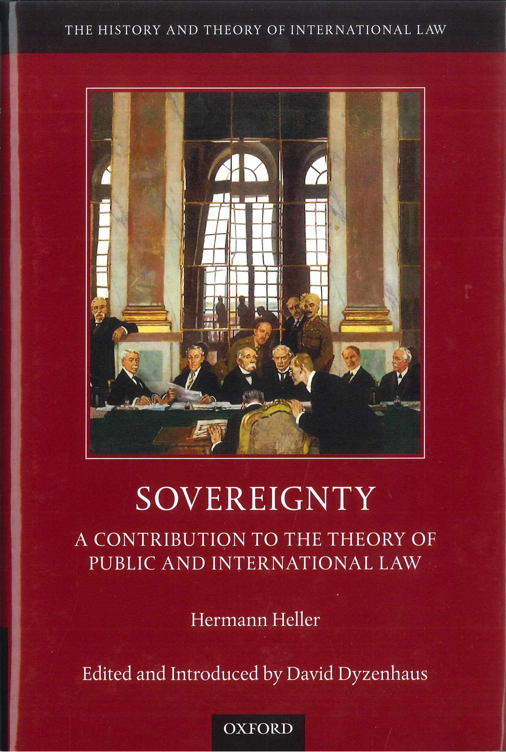 Sovereignty:a contribution to the theory of public and international law