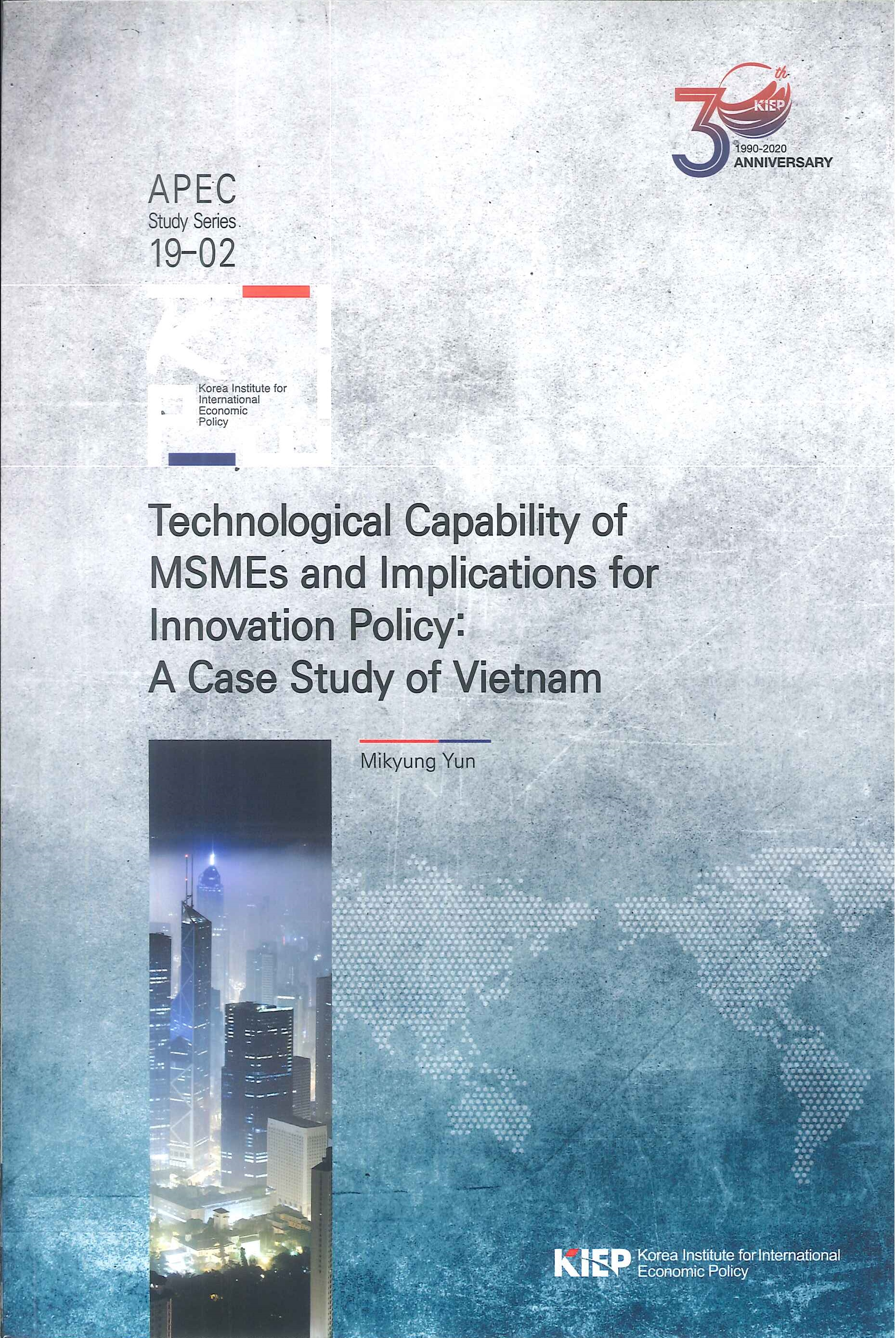 Technological capability of MSMEs and implications for innovation policy:a case study of Vietnam