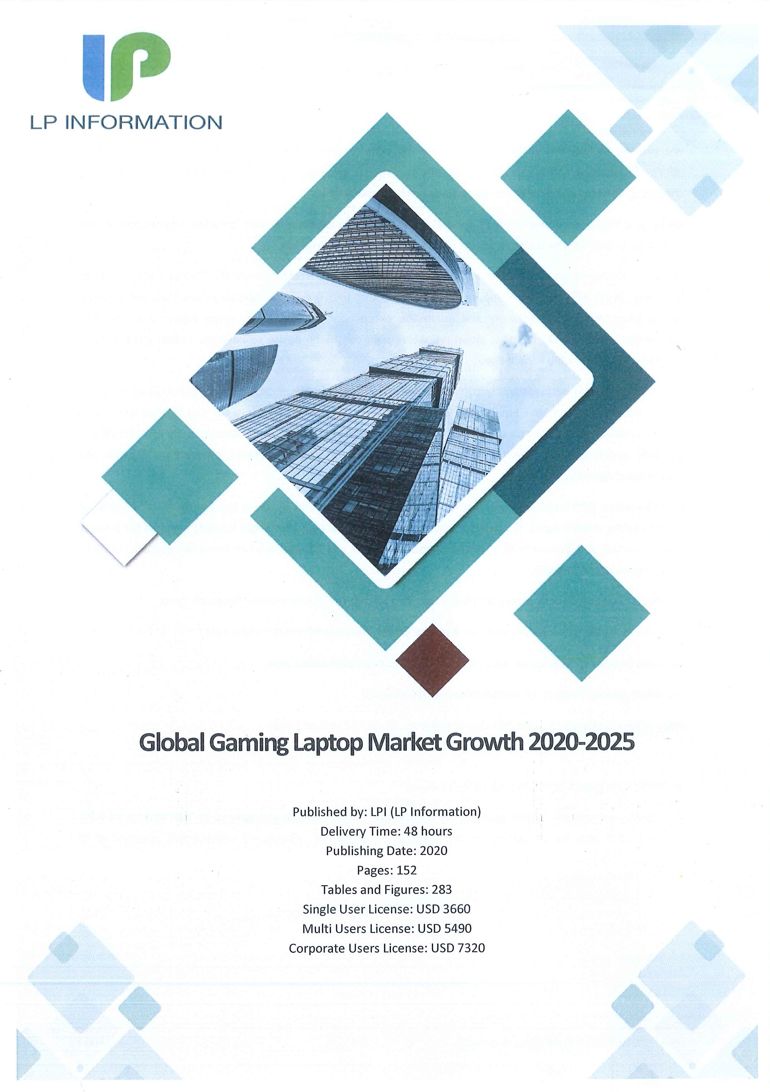 Global gaming laptop market growth 2020-2025 [e-book]