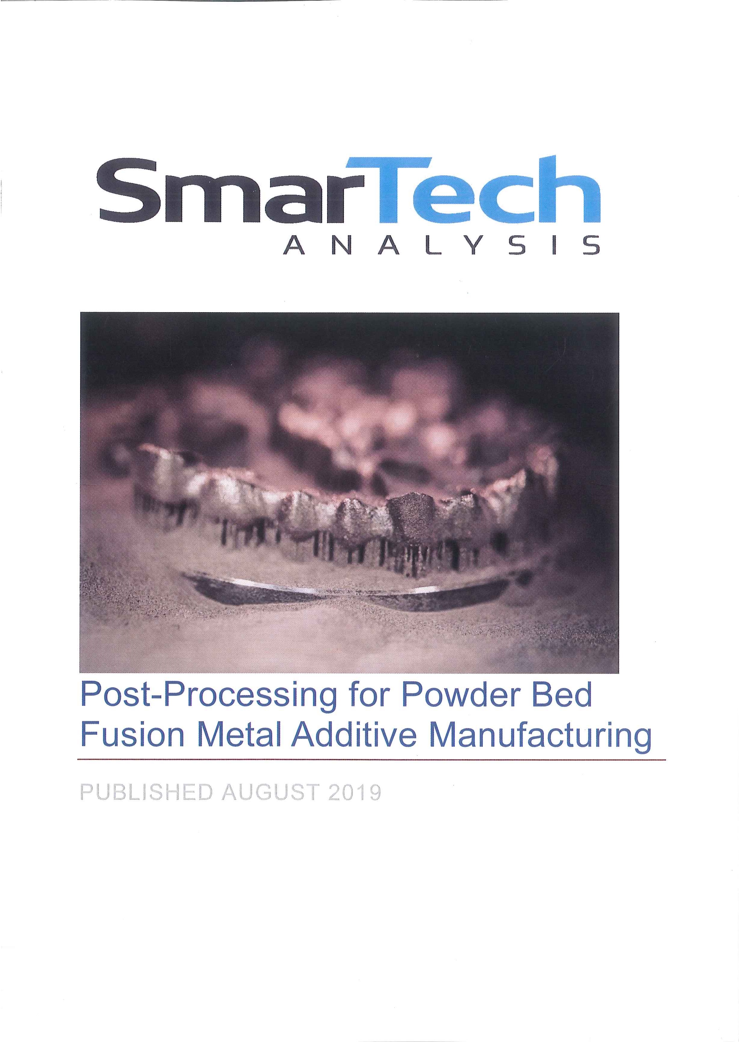 Post-processing for powder bed fusion metal additive manufacturing